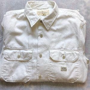 Ralph Lauren Denim & Supply White Denim Shirt